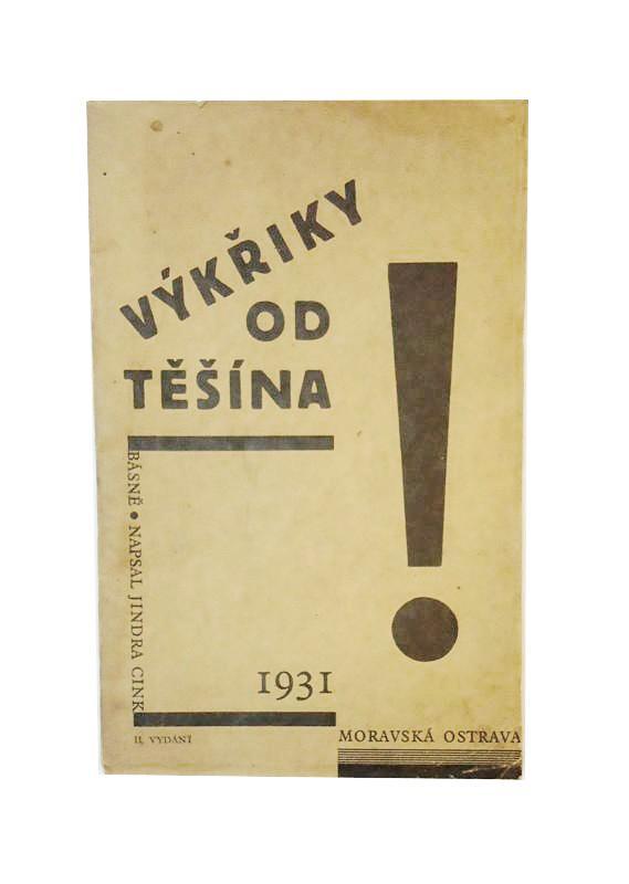 WIDMUNGSEXEMPLAR - Vykriky od Tesina. 2.vydani.