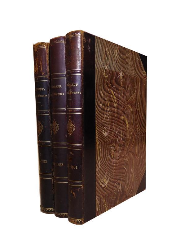 Das Leben Richard Wagners. 3 Bände (von 6).