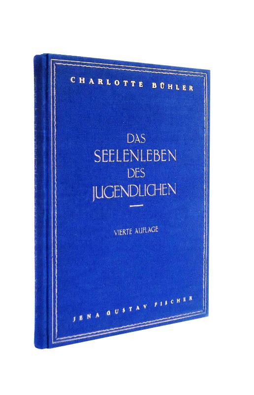 Das Seelenleben des Jugendlichen. Versuch einer Analyse und Theorie der psychischen Pubertät. Vierte, verb. Auflage.