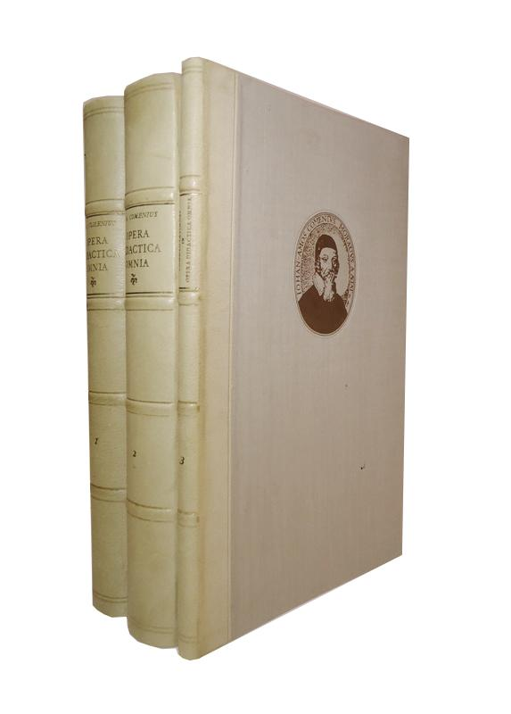 Opera Didactica Omnia. Edition anni 1657 lucis ope expressa. Reprint in 3 Bänden (Komplett).
