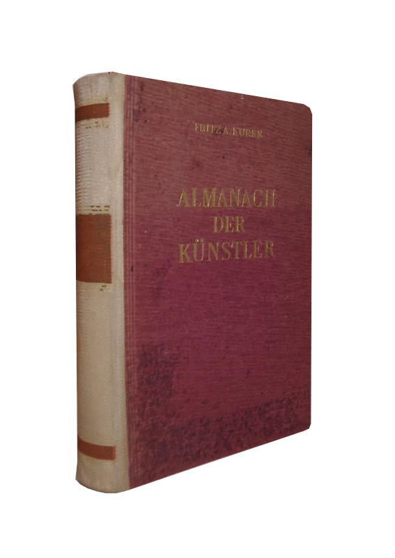 Almanach der Künstler von Bühne, Funk und Film.