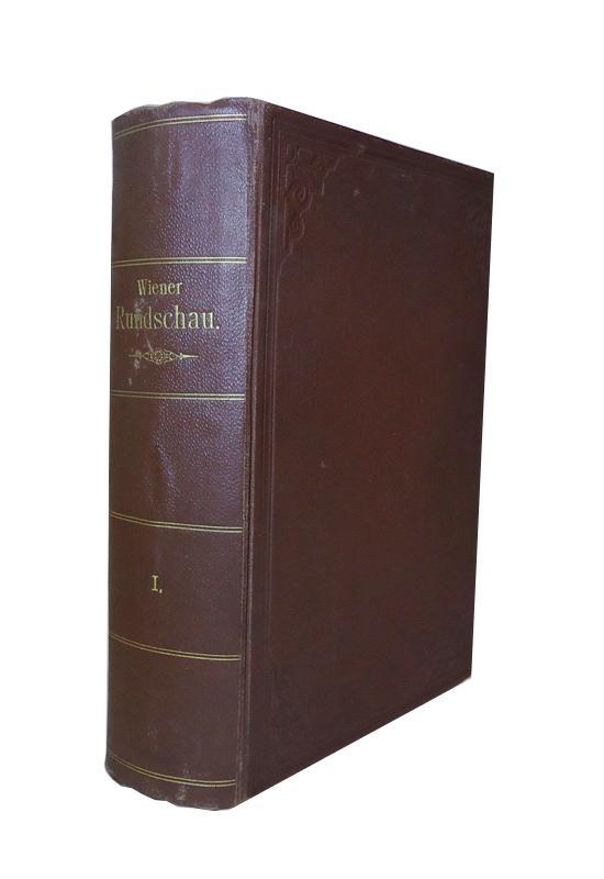 Wiener Rundschau. 1. Jahrgang, No. 1-12. Herausgegeben von Rudolf Strauss.