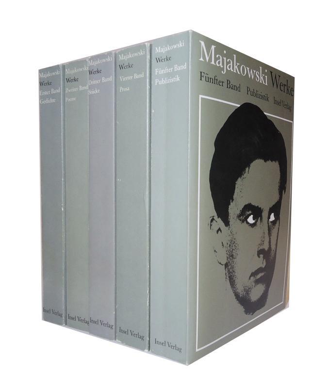 Werke in 5 Bänden. Komplett. 1.-3. Tsd.
