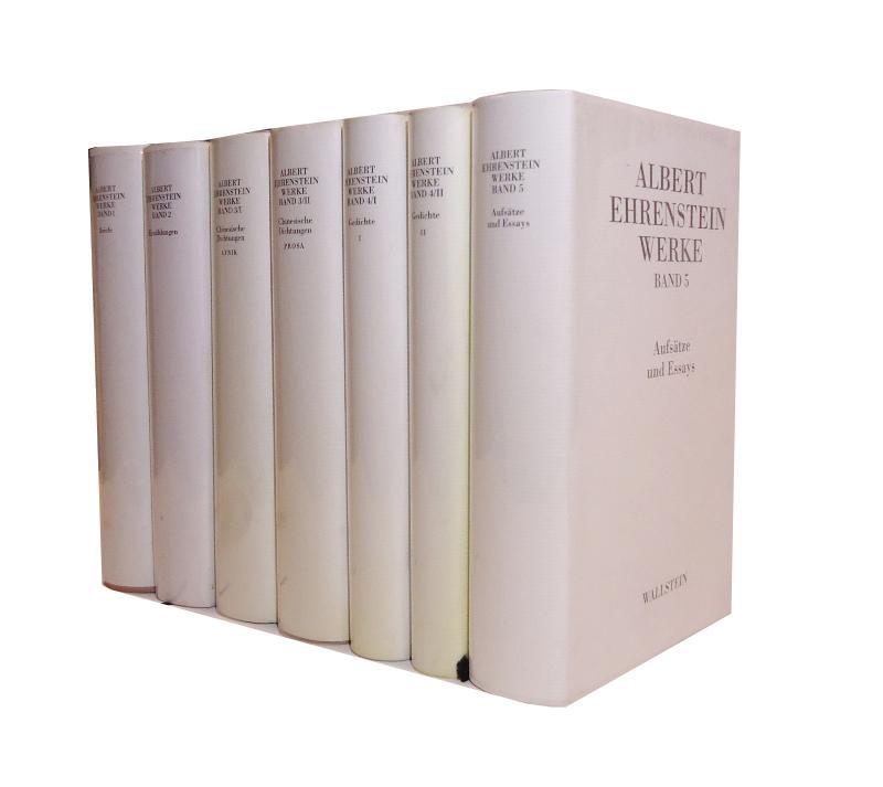 Werke. Komplett in 7 Bänden. Herausgegeben von Hanni Mittelmann.