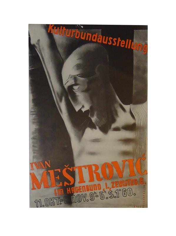 Ivan Mestrovic. Ausstellung des österreichischen Kulturbundes. Im Hagenbund, I., Zedltzg. 6. 11. Okt. - 6. Nov. 1935.