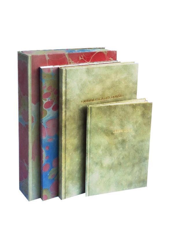 Libri Per Una Educazione Rinascimentale. Grammatica del donato liber iesus. 3 vols. Reprint.