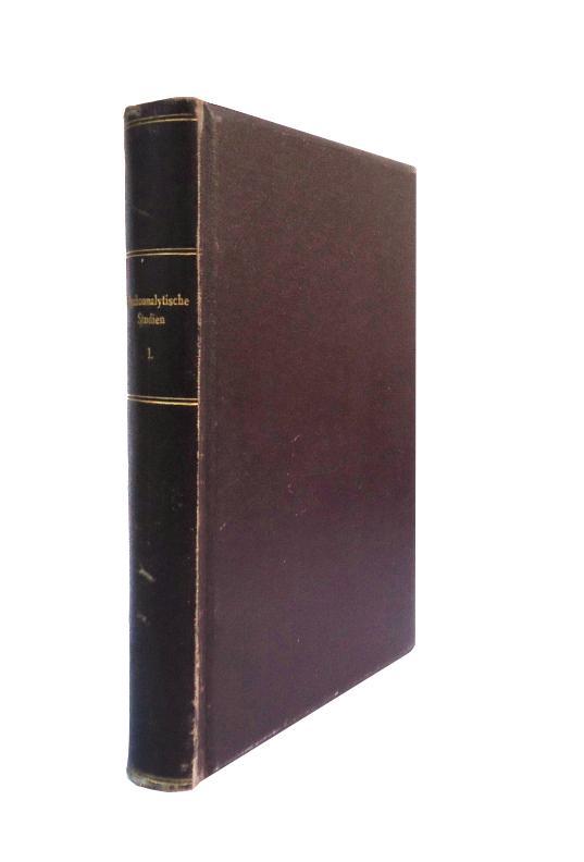 Sammelband von 4 Erstausgaben. Gebunden in 1 Band.