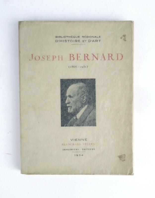 JOSEPH BERNARD. Sculpteur viennois (1866-1931).