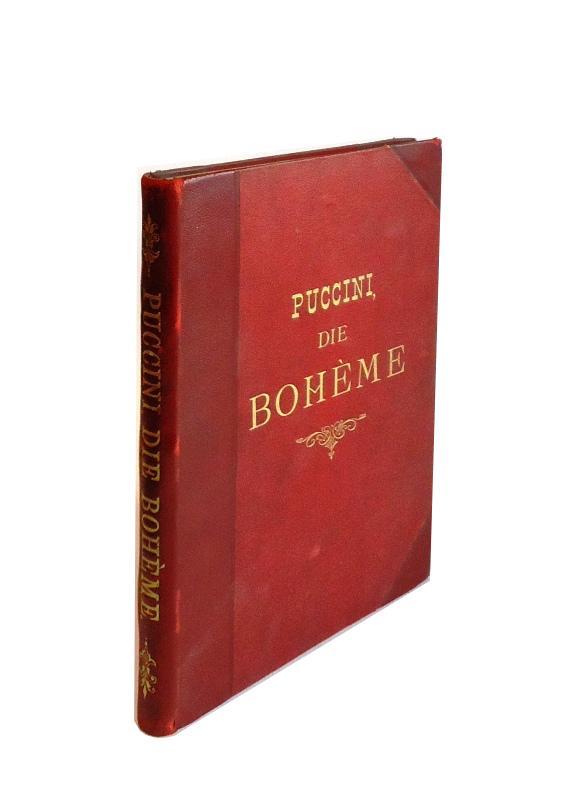 Die Bohème. Scenen aus Henry Murgers