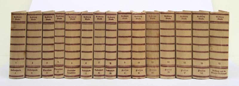 Sämtliche Werke in 15 Bänden (= Komplett). Historisch-kritische Gesamtausgabe herausgegeben von  Fritz Brukner und Otto Rommel.