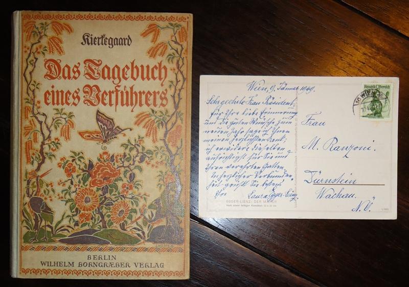 Autograph - Das Tagebuch eines Verführers. Deutscher Text und Nachwort von Horst Broichstetten.