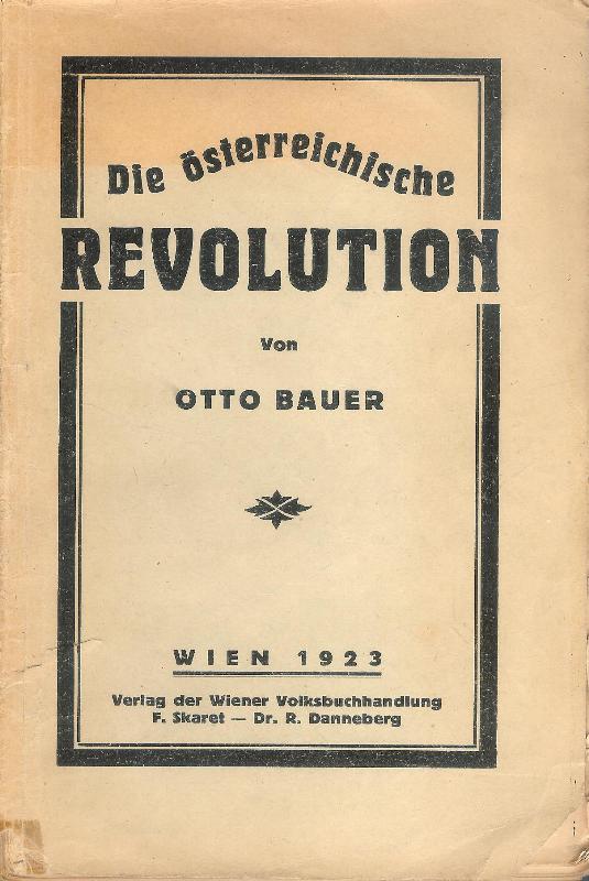 Die österreichische Revolution.