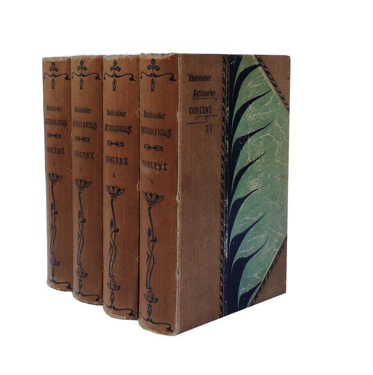 Coblenz, die Stadt. Historisch und topographisch dargestellt durch Chr. V. Stramberg. 4 Bände (komplett).