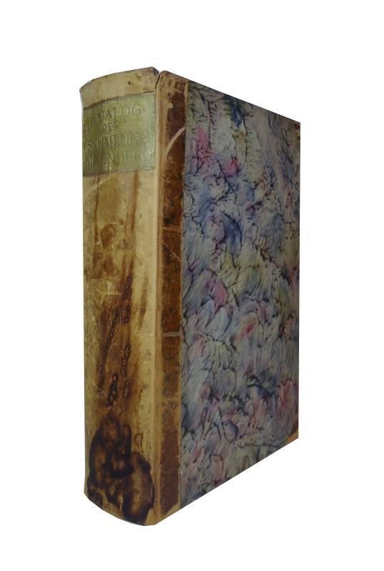 Katalog der Sammlung Kippenberg. Goethe - Faust - Alt-Weimar.