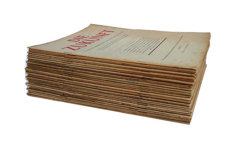 DIE ZUKUNFT. Sozialistische Monatsschrift für Politik und Kultur. 31 Nummern aus den Jahren 1947-1955.