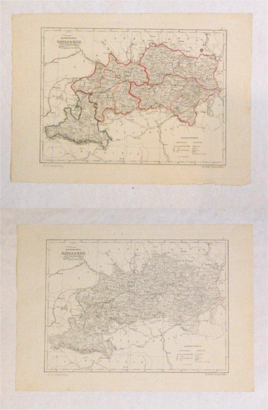 Erzherzogtum Österreich unter und ob der Enns und Herzogthum Salzburg.