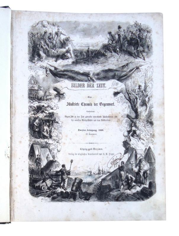 Bilder der Zeit. Eine Illustrirte Chronik der Gegenwart. 2. Jahrgang. 1856.