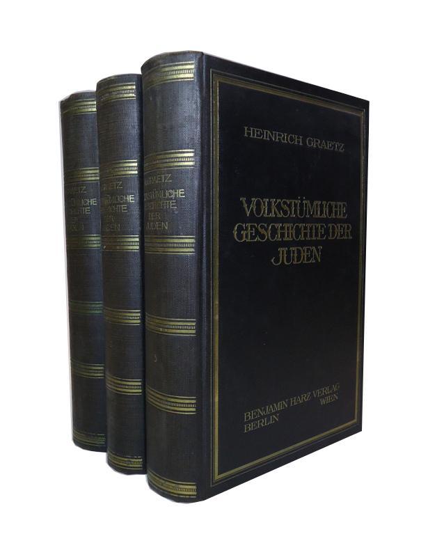 Volkstümliche Geschichte der Juden. Komplett in 3 Bänden.