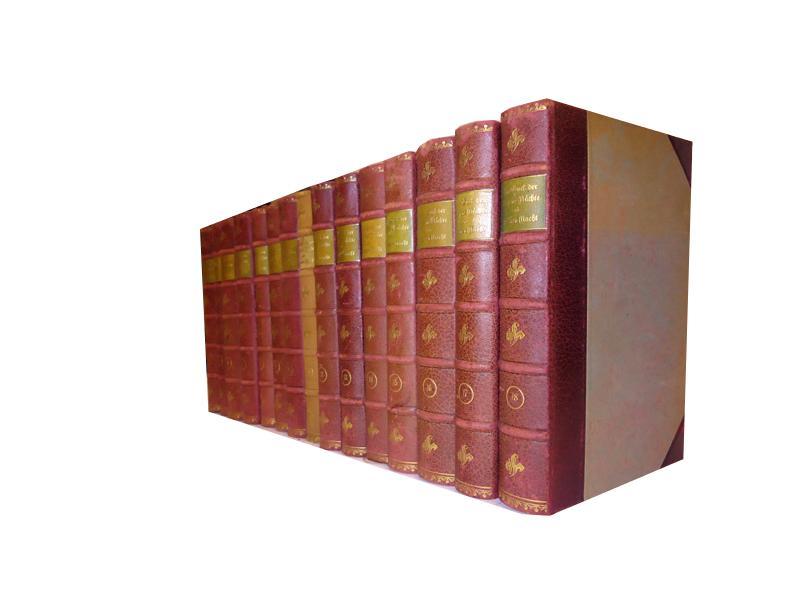 Das Buch der Tausend Nächte und der einen Nacht. Vollständige und in keiner Weise gekürzte Ausgabe nach den vorhandenen orientalischen Texten besorgt. 15 Bände (von 18)