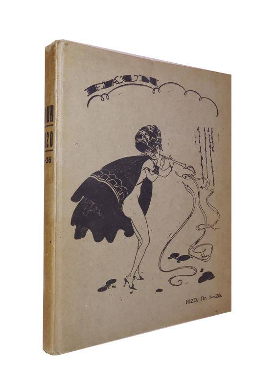 Faun. 5. Jahrgang. Nr. 1-26. 1920. 26 Hefte geb. in 1 Band.