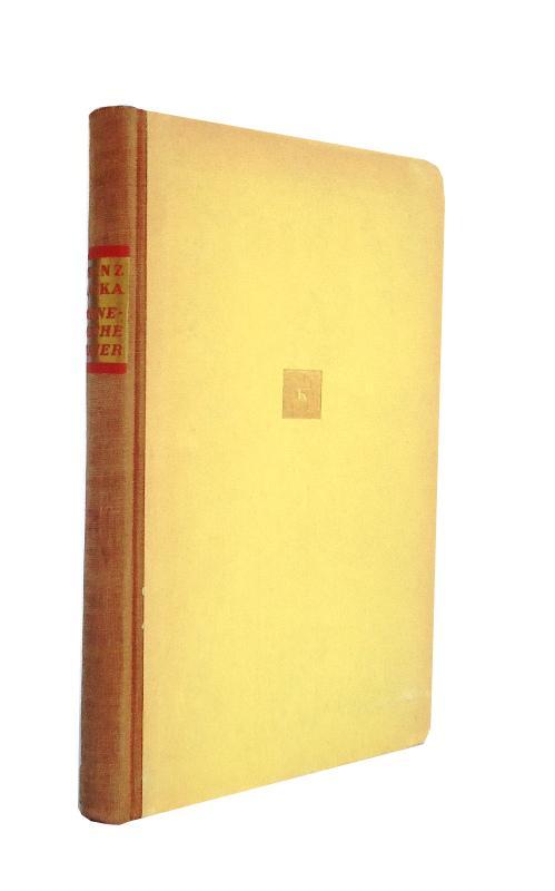 1. Kafka, Franz: Beim Bau der chinesischen Mauer. Herauegegeben von Max Brod und Hans Joachim Schoeps.