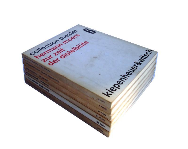 6 Bände. Alles Erstausgaben.