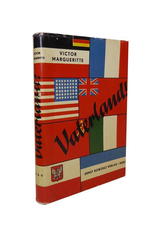 Vaterland! Die Lösung heißt: Europa oder Krieg! Deutsch von Joseph Chapiro.